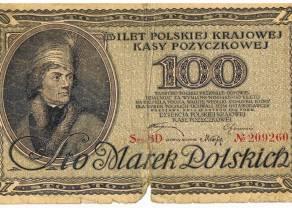 99 lat temu marka polska stała się walutą narodową. Burzliwa historia najkrócej obowiązującej waluty
