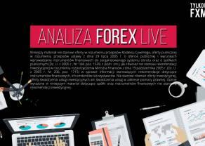 Analiza rynku Forex, indeksów i surowców LIVE