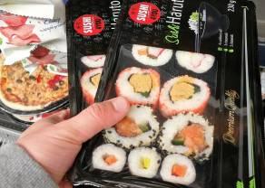 Analiza: W czasie pandemii ceny sushi poszły w górę. Do tego sklepy zrobiły dużo mniej promocji