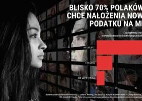 BADANIE: Polacy stanowczo nt. podatku od mediów. Blisko 70% nie chce jego wprowadzenia