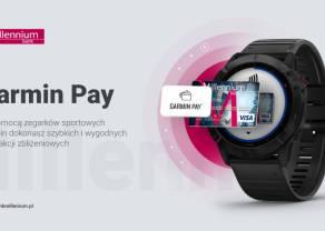 Bank Millennium udostępnił płatności Garmin Pay