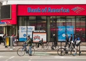 Bank of America publikuje wyniki za III kwartał 2020 r. Kurs akcji w dół