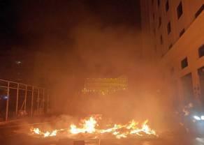 Banki w Libanie płoną. Zdesperowani obywatele wyszli na ulice