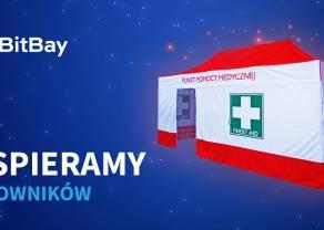BitBay przeznacza środki ze zbiórki na zakup namiotu dla ratowników medycznych