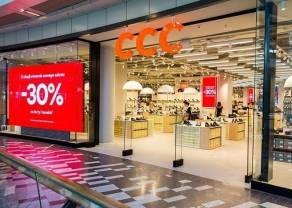 CCC osiągnęła przychody wyższe o ponad 86%. Akcje spółki w górę