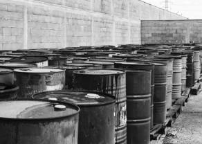 Cena ropy na oporze 58.50 dolarów. Czy czarnemu złotu uda się przebić lokalny szczyt?