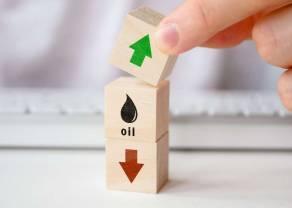Cena ropy naftowej najwyżej od roku. Kurs BRENT po 59 dolarów (USD) za baryłkę