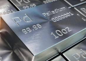 Cena złota w granicach 1880 USD za uncję, srebro po 23 dolary, platyna i pallad na spadkach - korekta notowań metali szlachetnych