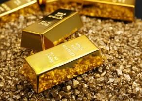Cena złota, miedzi i srebra odwrotnie skorelowana z kursem dolara w ostatnim tygodniu. Podsumowanie surowców