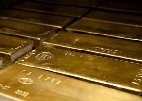 Cena złota najwyżej od czerwca 2018