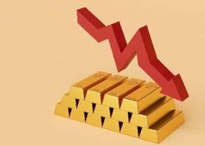 Cena złota nurkuje! Siła dolara (USD) ciosem dla notowań GOLD. Do jakich poziomów może spaść kurs złotego kruszcu?
