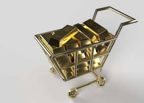Cena złota nadal pod presją dolara (USD). Polska zamierza dokupić kolejne 100 ton złotego kruszcu! Dobry ruch ze strony Glapińskiego?