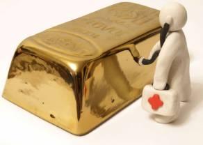 Cena złota zniżkuje trzeci dzień z rzędu! Co zrobi GOLD?