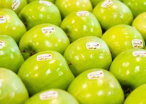 Ceny jabłek poszły w górę o ponad 46%. Banany zaliczają spadek o 4%