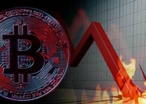 """Chiński bank centralny """"dobija"""" kryptowaluty - Bitcoin (BTC) pierwszy raz od lutego spada poniżej 40 tys. dolarów za token!"""