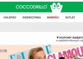 Coccodrillo kontynuuje wzrosty we wrześniu. Przychody po trzecim kwartale w kanale e-commerce wyższe o 33 proc.