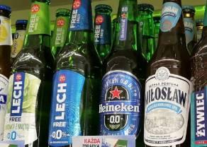 Coraz więcej promocji piwa bezalkoholowego. Sieci typu convenience mocno idą w górę, a hipermarkety – w dół