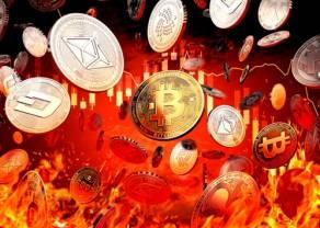 Czas korekty ceny Bitcoina. Po gwałtownych wzrostach kursu bitcoina przychodzi czas na mocne spadki