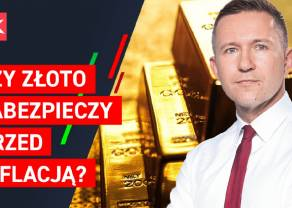 Czy złoto zabezpieczy przed inflacją? Perspektywy dla rynku GOLD. Co przyniesie tydzień?