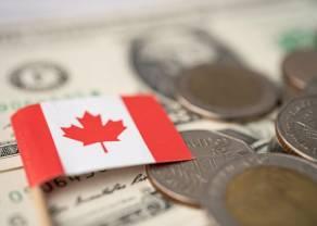 Dolar kanadyjski umacnia się względem dolara amerykańskiego (CAD/USD) - Gospodarka Kanady przyspiesza