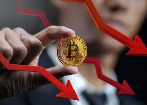 Dynamiczne zmiany na rynku krypto - bitcoin tracił nawet 15 proc.! Gwałtowny spadek udziału BTC w ogóle kryptowalut