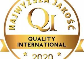 eService wyróżniony złotym godłem Najwyższa Jakość Quality International 2020