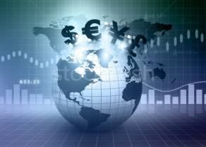 Euro (EUR), dolar (USD), frank (CHF), funt (GBP) i jen (JPY) na rynku Forex w pierwszy dzień tygodnia