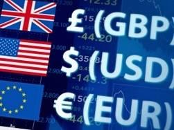 Euro (EUR), dolar (USD), frank (CHF) i funt (GBP) na rynku Forex przed weekendem