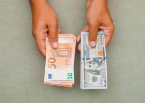 Kurs euro na plusie względem dolara (EUR/USD) - komentarz