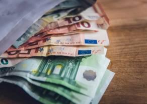 Euro po 4,43 złotego. Kurs dolara pod 3,90 PLN. Funt na poziomie 4,93 zł. Komentarz walutowy – EBC bez hamulców