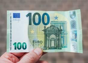 Euro po 4,45 zł. Kurs dolara przy 3,78 PLN. Polski złoty słabszy, korekta w USA chłodzi nastroje