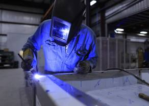 Europejski przemysł przyspiesza - reaguje tylko funt
