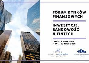 Forum Rynków Finansowych: Inwestycje, Bankowość&FinTech - szczegóły wydarzenia