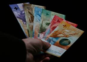 Frank blisko 4,25 zł. Podbicie kursu euro do dolara (EUR/USD) ogranicza presję na polskim złotym