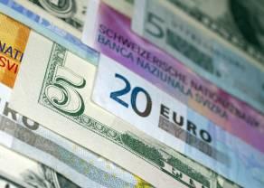 Frank (CHF), euro (EUR) i dolar australijski (AUD) zyskują względem dolara amerykańskiego (USD). Kurs funta (GBP/USD) w dół