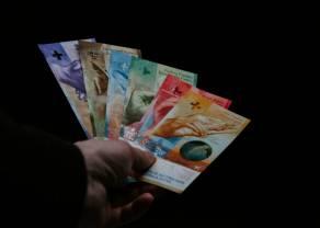 Frank powyżej 4,03 zł. Funt nad 5,12 złotego. Presja na polskiej walucie, globalny rynek w układzie risk-off