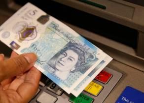 Funt GBP i jen JPY zyskują względem dolara USD