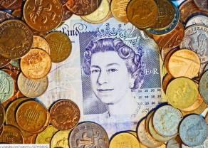Funt GBP nieznacznie tanieje-Bank Anglii tnie prognozy wzrostu