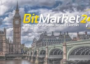 Giełda BitMarket24 kończy działalność po wpisie na listę KNF