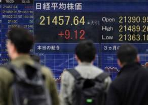 Giełdy w Azji: Nikkei 225 spadł o 1,09 proc., a w Chinach SCI w dół o 1,94 proc.