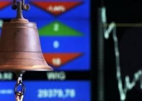 GPW - Prawie 10% spadku wartości obrotu akcjami