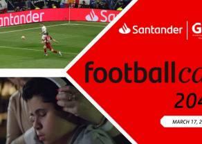 Grupa Santander zaprasza do udziału w międzynarodowym konkursie wspierającym inkluzyjność w piłce nożnej - FootballCan 2041