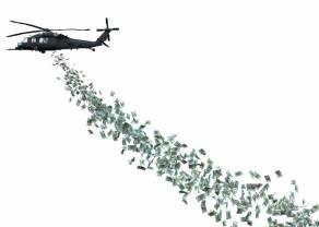 Helikopter z pieniędzmi. Podwaliny gospodarki rynkowej zniszczone? Wenezuela? Kuba? Nie, to wszystko w USA!