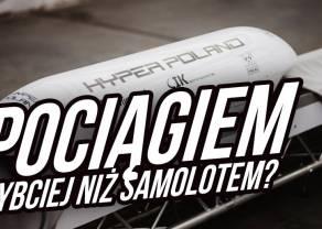 Hyper Poland - superszybki pociąg, który unosi się nad ziemią