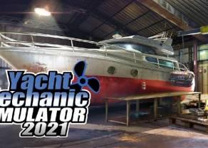 Image Power w drodze na giełdę promuje Yacht Mechanic Simulator 2021 na Kickstarterze
