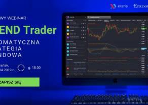 Jak podążać na rynku forex za trendem? Pomoże Ci w tym TREND Trader! Zapisz się na darmowy webinar