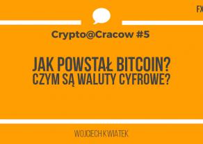 Historia Bitcoina i rejestru Blockchain. Nagranie z Crypto@Cracow