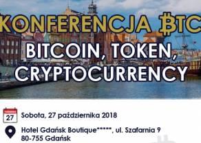 Już w tą sobotę konferencja BTC: Bitcoin, Token, Cryptocurrency