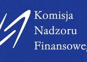 KNF - komunikat dotyczący strat i zysków na Forex w 2016 roku