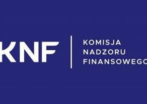 KNF ostrzega przed nowymi podmiotami